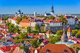 Tallinn, Estonia Skyline