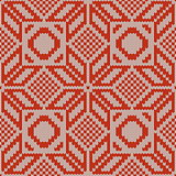 Vector Winter Knitted Pattern 1