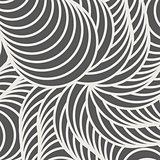 Decorative background pattern with curls