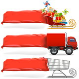 Vector Transport with Banner Set 2