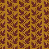 Vector Autumn Knitted Pattern 1