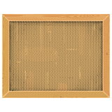 Vector Wooden Frame with Sackcloth