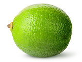 One whole ripe lime