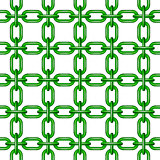 Net of chain in green design