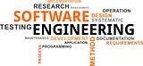 word cloud - software engineering