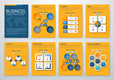 Color elements for infographics