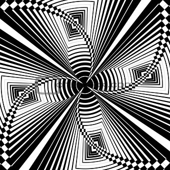 Abstract graphic pattern.