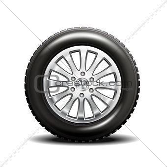 single car tire