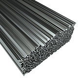 Rolled metal L-bar