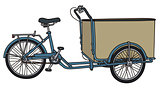 Freight tricycle rickshaw