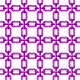 Net of chain in purple design
