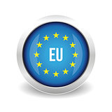 EU logo. European union button