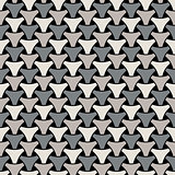 Seamless weaving triangle squama surface pattern
