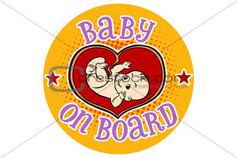Baby on Board, embryo in the womb