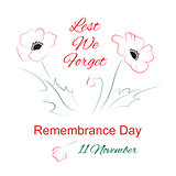 Remembrance day symbol