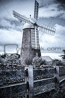 Callington Mill, Oatlands, Tasmania, Australia