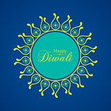Illustration of Diwali utsav greeting or poster card