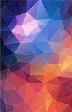 Vertical triangle pattern. abstract background