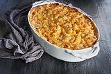Fresh Baked Macaroni and Cheese