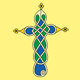 Decorative ornamental Celtic cross