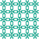 Net of chain in turquoise design