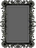 Antique Black Frame