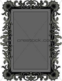 Antique Black Frame