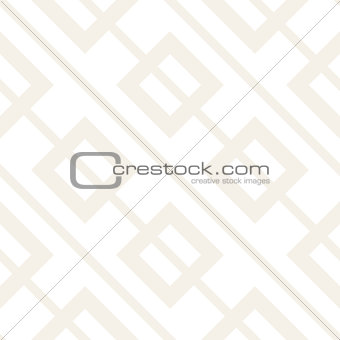 Abstract geometric lines lattice pattern. Seamless vector background. Subtle simple repeating texture.