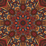 Abstract Tribal ethnic mandala round ornament