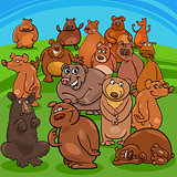 cartoon bears animal characters