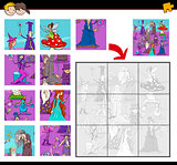 jigsaw puzzles with fantasy characters