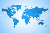 Communication technology is available worldwide.