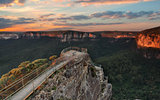 Blue Mountains Lookout Pulpit Rock