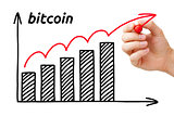Bitcoin Increasing Price Graph