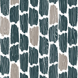 Seamless wood planks pattern. Tree bark texture vector background.