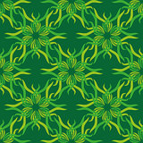 Seamless abstract vintage bright green pattern