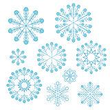 Vector Christmas snowflake