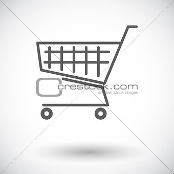 Cart single icon.