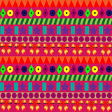 Seamless colorful pattern for celebrations with strips