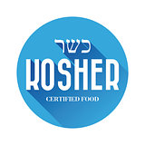 Kosher food sign
