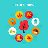 Concept Hello Autumn