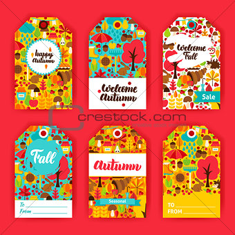 Autumn Gift Labels