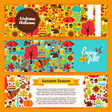 Autumn Horizontal Banners