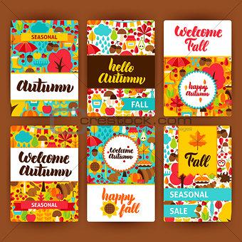 Autumn Label Set