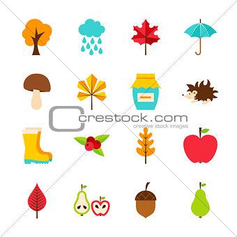 Autumn Flat Objects