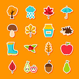 Autumn Flat Stickers