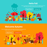 Autumn Website Banners