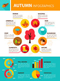 Autumn Season Infographics