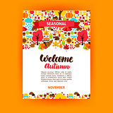 Autumn Seasonal Poster