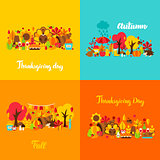Autumn Thanksgiving Concept Set